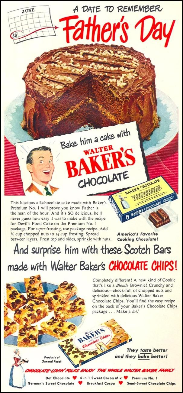 87 best Vintage Chocolate Ads & Recipes images on Pinterest ...