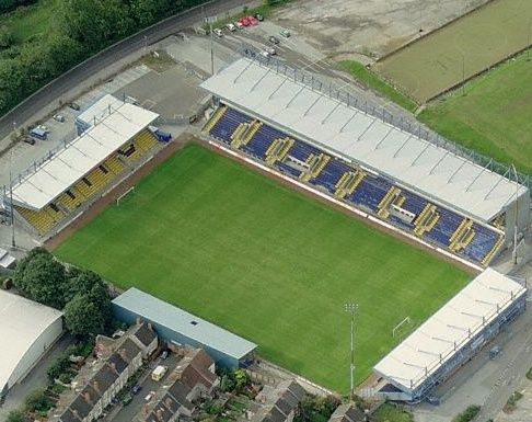 Field Mill home to the famous Mansfield Town Football Club