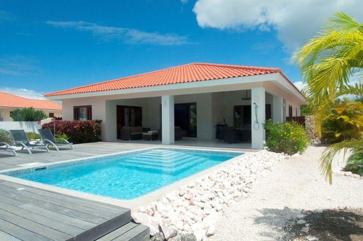 New construction, model Eagle, built on golf resort Curacao - Alto Vista International Realty