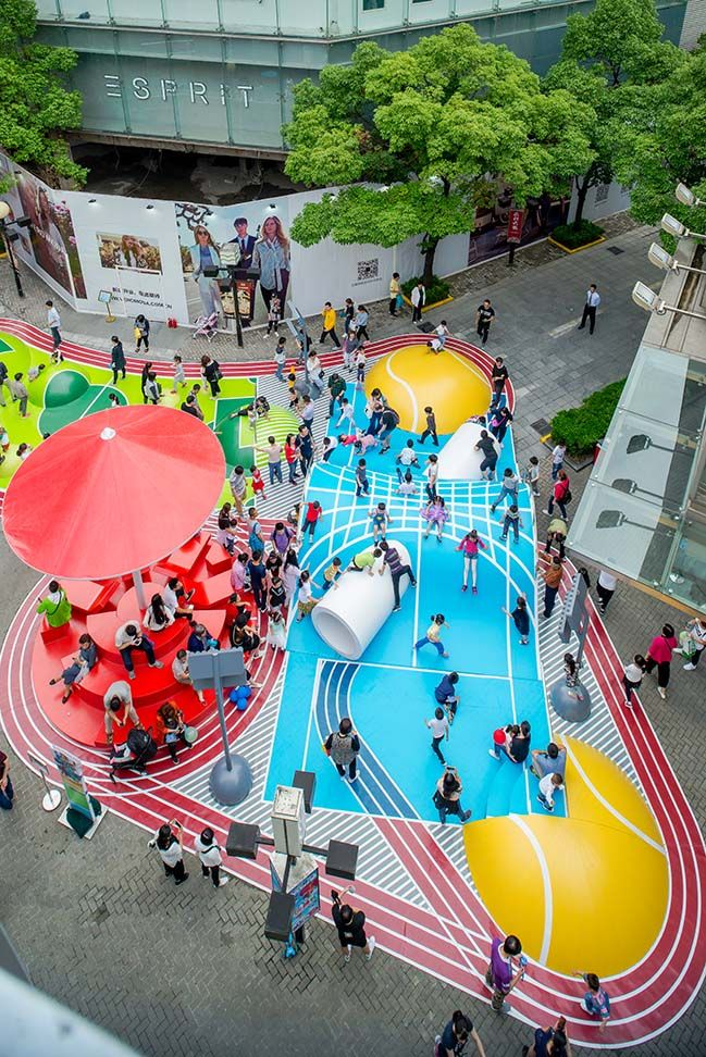 Olympia In Shanghai By 100architects Landscape And Urbanism Architecture Urban Landscape Design Public Space Design