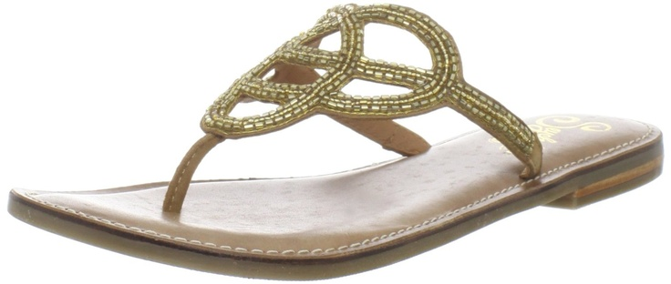 Seychelles Women's Crying Out Loud Thong Sandal in Gold