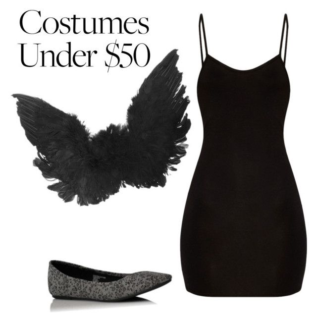 """Dark Angel Halloween Costume Under $50"" by ashley-rye ❤ liked on Polyvore featuring George"