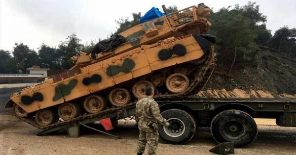 الجيش التركي ينشئ قاعدة عسكرية بموقع استراتيجي جنوبي إدلب In 2020 Tank Military Vehicles Turkish Military