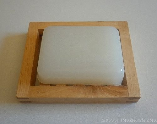 luxury homemade face soap; melt-and-pour base.  Also has chart for recommendations of oils based on skin type.