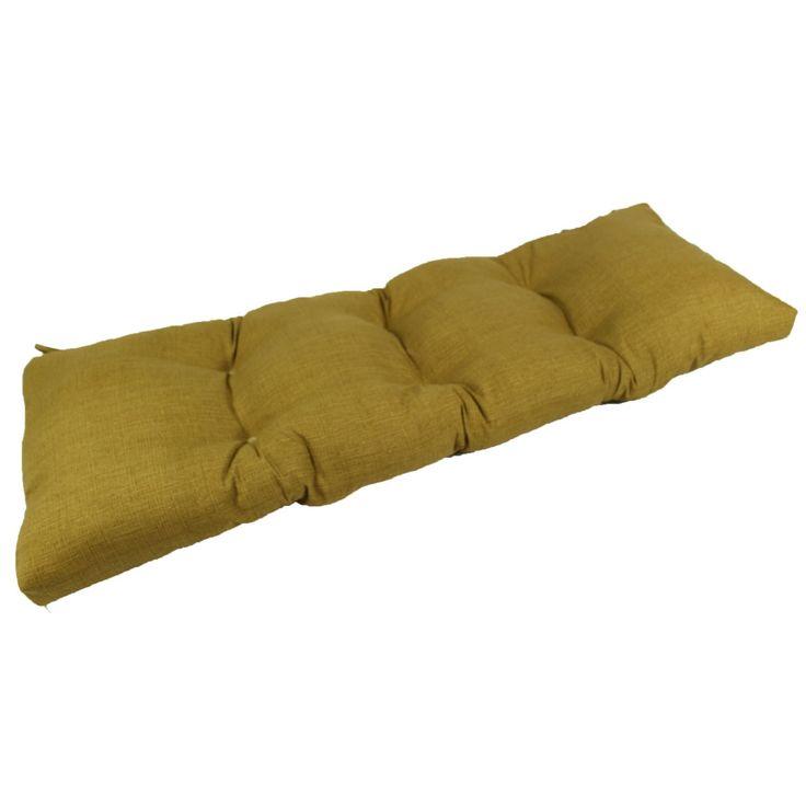 Lava Monti Richloom Camel Sunbrella Outdoor Bench/Glider Cushion - LAVA26-0071
