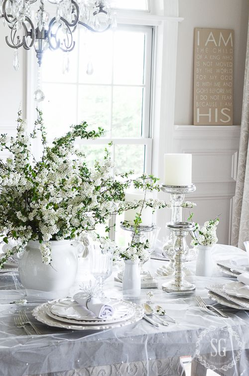1000 ideas about dining table centerpieces on pinterest for Dining table dressing ideas