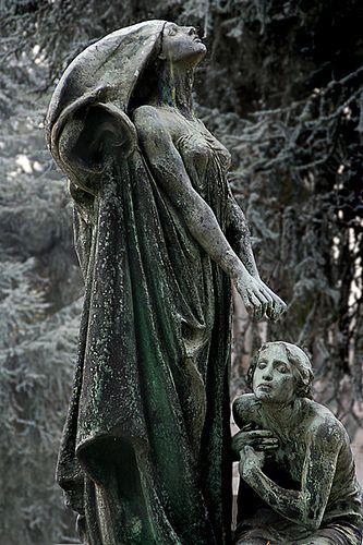 Stone monument, Turin Cemetery, Italy