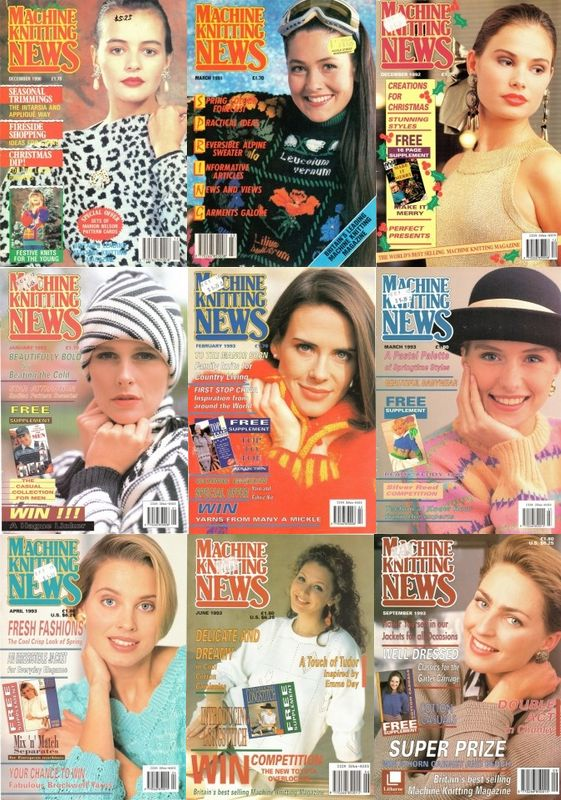 Rare Machine Knitting News Magazine Collection Free PDF Download