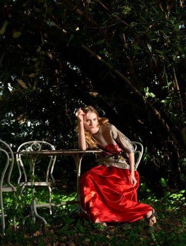L'Autre Chose on Io Donna! #lautrechose #lac #press #ss15 #longskirt