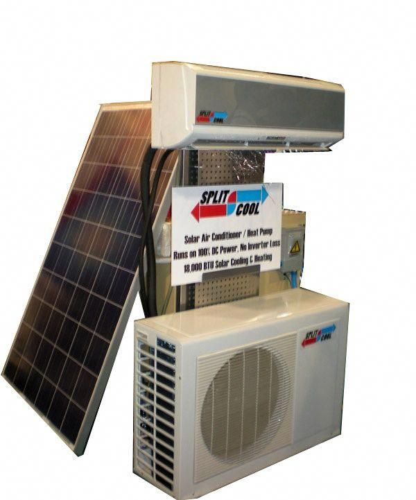 World S First Dc Powered Ductless Mini Split Air Conditioner Unveiled By Solar Panels Plus Busines Solar Air Conditioner Ductless Mini Split Solar Power Diy