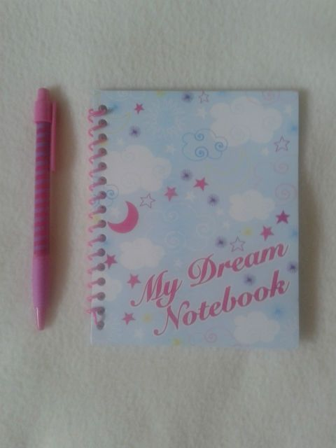 GIRLS,MY DREAM NOTEBOOK & PEN SET, 60 Blank pages,Party favors,School,Gift. | eBay