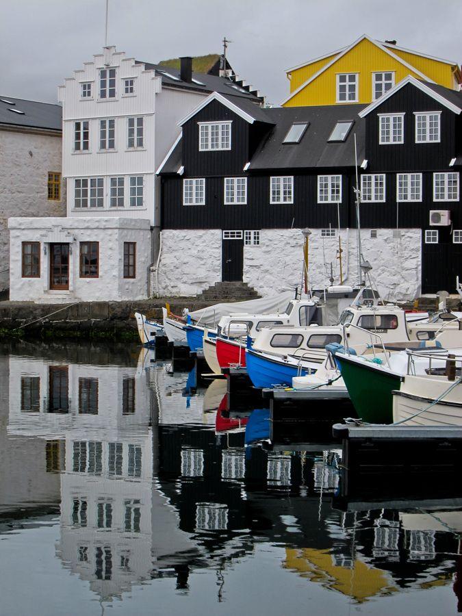 Torshavn, harbor by Kim Barnes