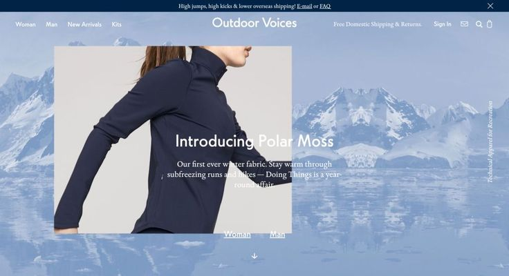 Outdoor Voices http://shopify.cool/apparel/outdoor-voices/?utm_campaign=coschedule&utm_source=pinterest&utm_medium=Shopify%20Cool&utm_content=Outdoor%20Voices