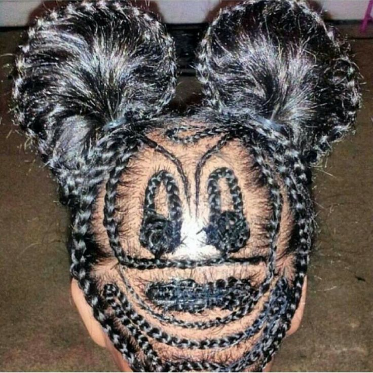 Mickey In Braids Never Seen This Before Natural
