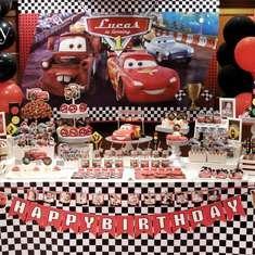 Lucas is turning 1 - Cars (Disney movie)