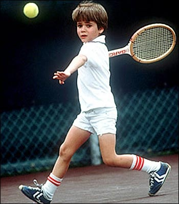 little andre agassi.