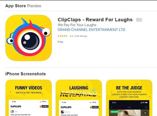 Doni A Nugroho Cara Mendapatkan Uang Di Iphone Dengan Clipclaps Aplikasi Uang Iphone