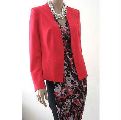 Coral color jacket, size 12 $57 via @Shopseen