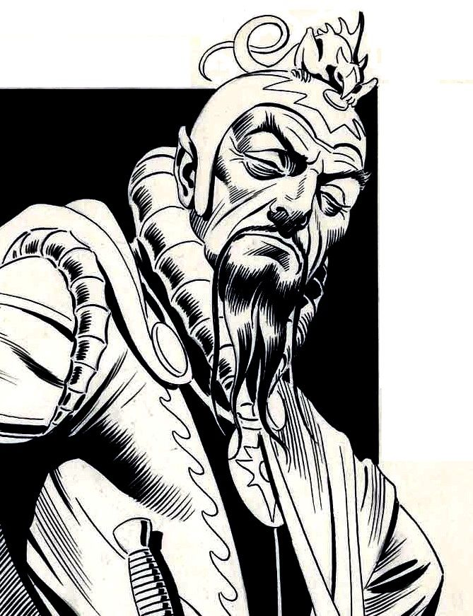 Image result for ming the merciless comic