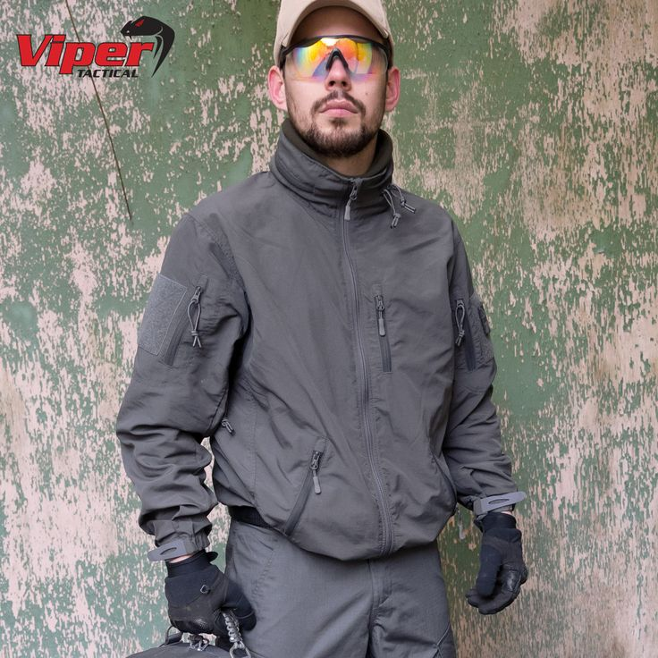 Water resistant and lightweight Viper Tactical Elite Jacket comes with foldable hood, six useful pockets, strengthened elbows, hook and loop patches on both sleeves and underarm zip vents. Only £53.95! Find out more at Military 1st online store. Free UK delivery and returns! Competitive overseas shipping rates.