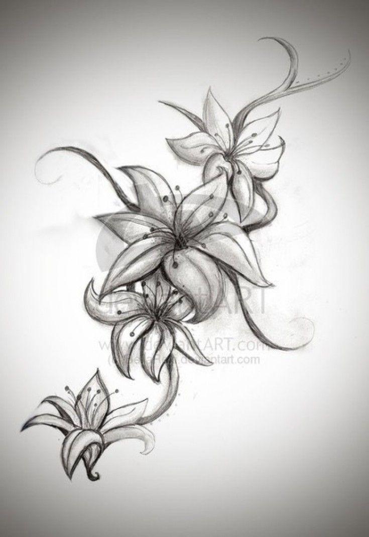 60 best tattoo ideas images on pinterest lilies tattoo tattoo nice lilies design for a tattoo tattoo pics dhlflorist Images