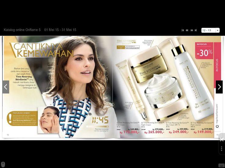 Time Reversing SkinGenist Untuk semua jenis kulit (tanda - tanda penuaan dini)