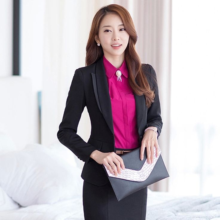 New Korean women wear skirt suits suits Slim suits #Affiliate