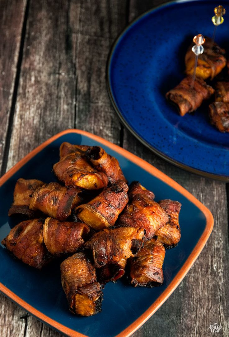 Bacon-Wrapped Butternut Squash