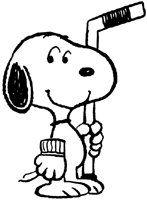 free snoopy pictures | Snoopy's Senior World Hockey Tournament