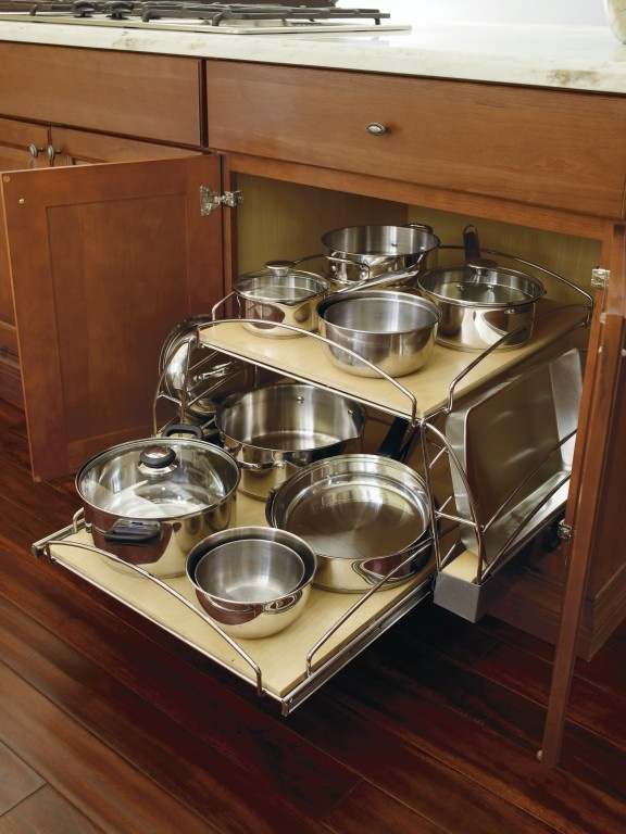 cabinet pots and pans organizer pots and pans organizer base cabinet by thomasville 13004