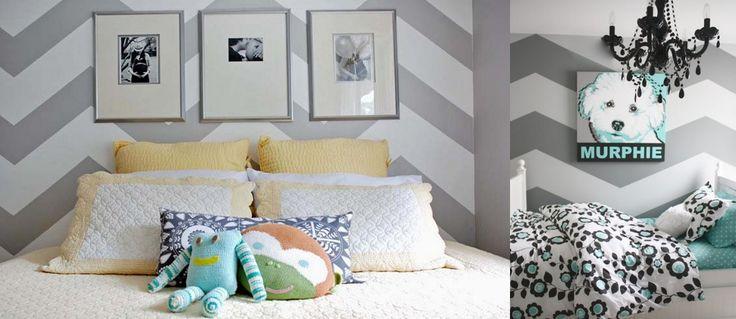 Resultado de imagem para como pintar chevron na parede