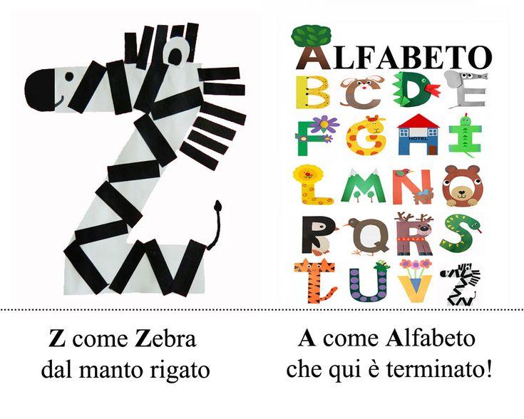 Alfabeto animato scritto e disegnato