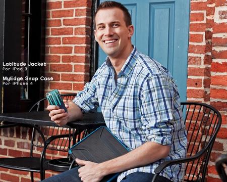 Latitude Jacket  for The New iPad  Spring 2012