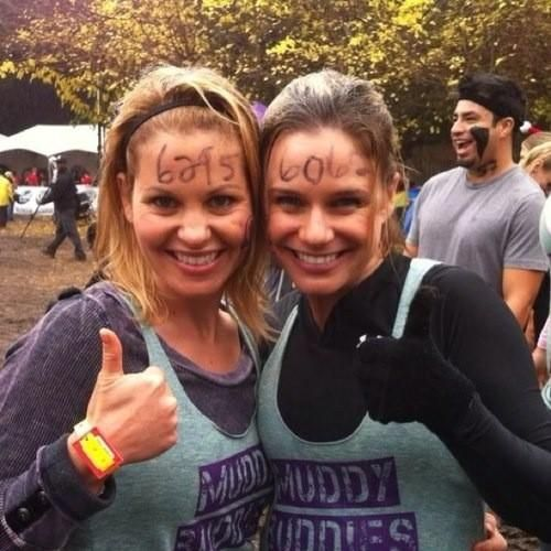 Candace cameron and andrea barber
