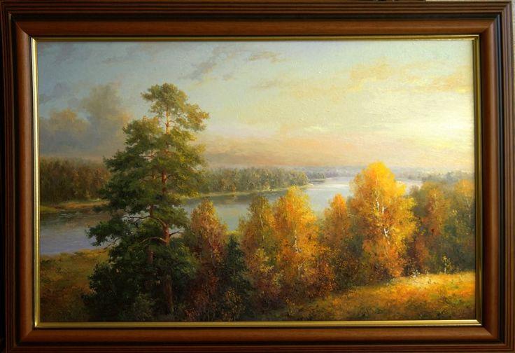 Latvian landscape. Autumn (landscape painting)
