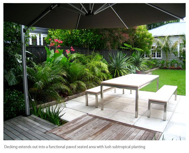 Contemporary courtyard google search outdoors and for Tropical courtyard garden design