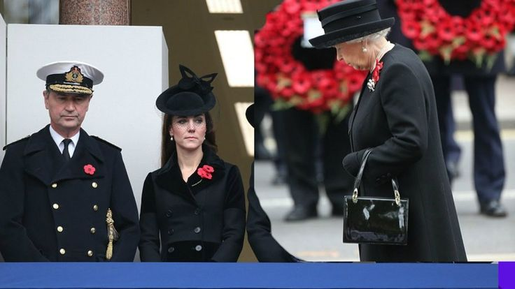 Queen leads nation in honouring Britain's fallen heroes, Remembrance Sunday
