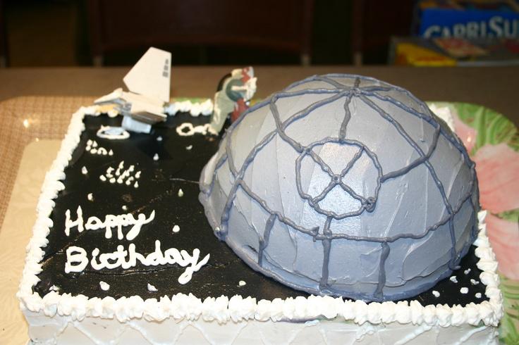 Star Wars cake for J's birthday