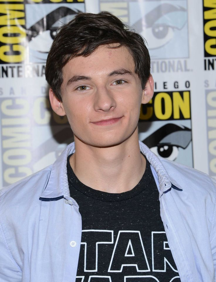Jared Gilmore at San Diego Comic Con 23 July 2016