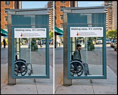 rehabhn:  Excelente forma de crear sensibilización en paradas de buses.  siya que es algo muy necesario  via Tumblr http://ift.tt/2nEHwX5