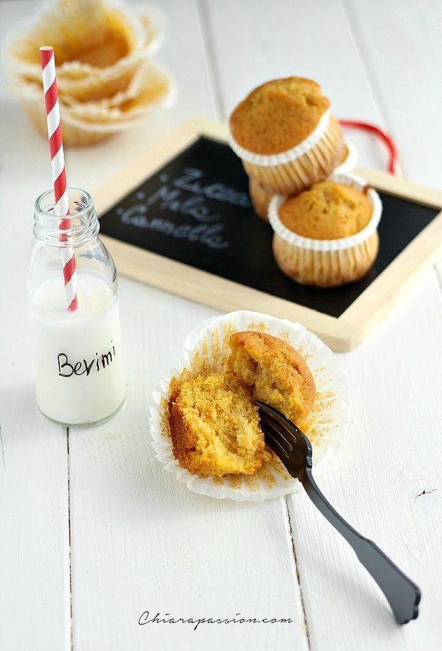 Muffin alla zucca e mela | Chiarapassion