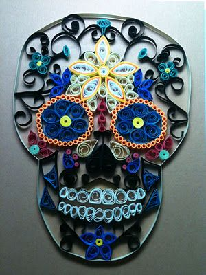 Day of the dead: MY Designs - Paper Crafts: January 2012
