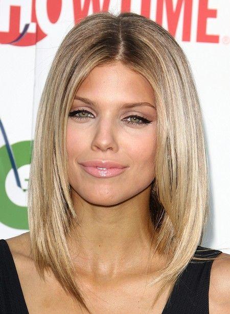 Стрижки для квадратного лица на длинные, средние и короткие волосы | VolosoMagia.ru