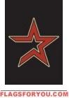 "Astros Garden Window Flag 15"" x 10.5"""