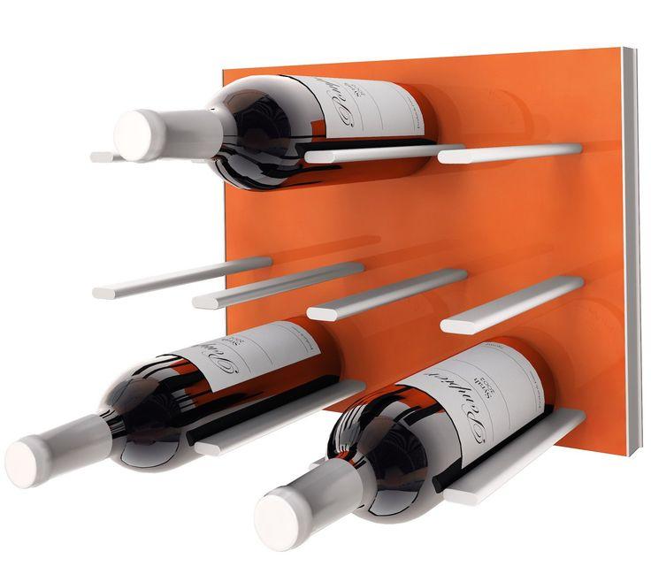 STACT C-type Wine Rack - Electric Orange