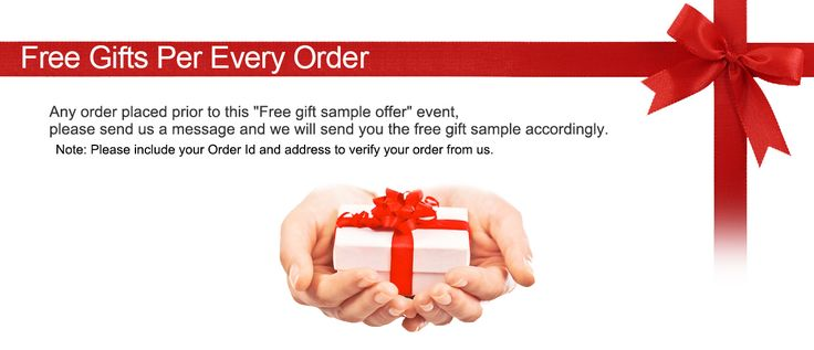 Get free samples and free tracking number by amount of your order on BB Cosmetic.com