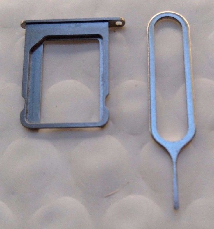 40 Lot iPhone 4 & 4s Silver Sim Tray Holder for a Micro Sim Card/Ejection Pin #2Kings