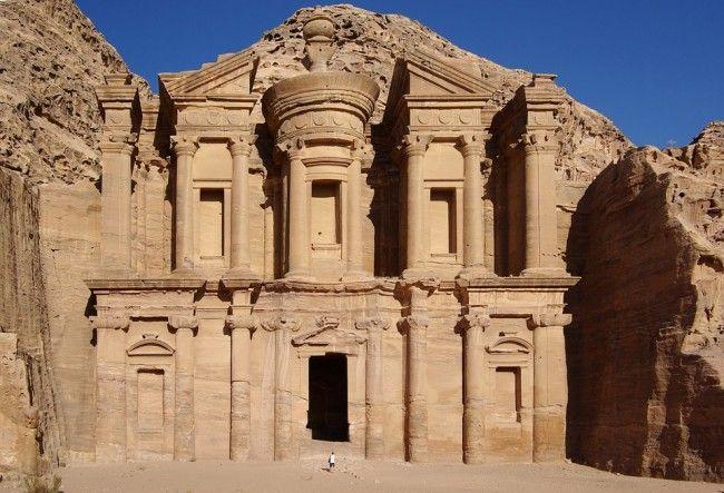 Petra #Världens #Sju #Nya #Underverk #Seven #Wonders #Of #The #World #History #Historia #Travel #Resa #Resmål #Famous #Petra #Jordanien #Skattkammaren