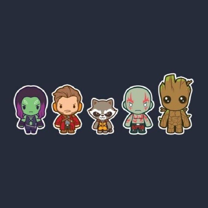 Groot Gamora Guardioesdagalaxia Arte Da Marvel Desenhos De