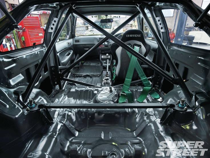 1996 Honda Civic Sir Ek4 Roll Cage via Super Street
